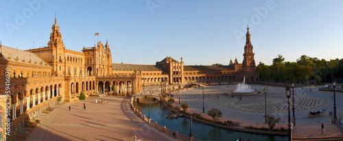 Hiszpania - Sevilla Plaza de España