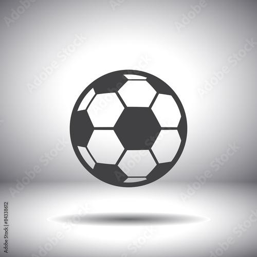 ikona piłki nożnej wektor