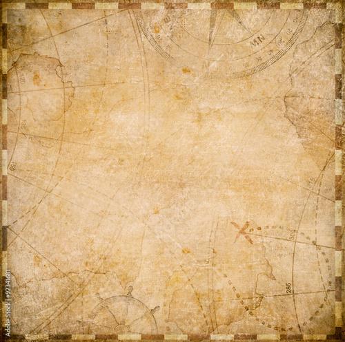 stare piraci mapie kwadratowy kształt
