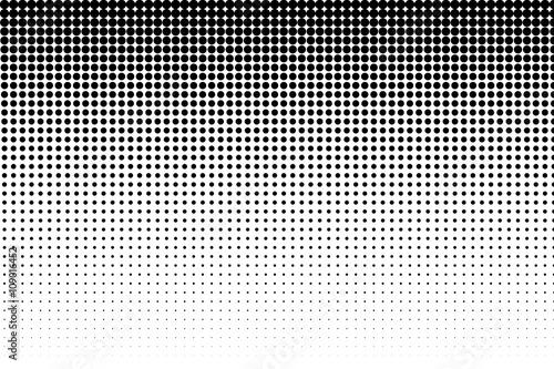 Główny efekt półtonów punkty w czarny i biały kolor. Skala odcieni szarości efekt. Punkt półtonów. Czarno białe, w skali szarości.