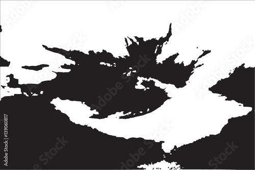 Abstrakcyjny wzór czarno-białe tekstury grunge. Ilustracji wektorowych