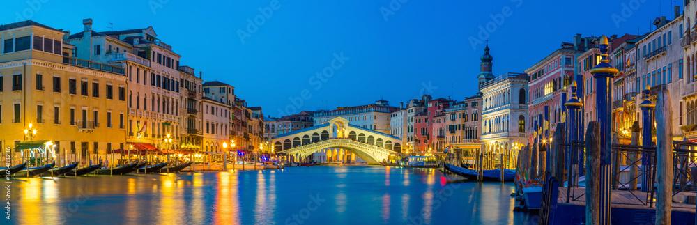 Most rialto w Wenecji, Włochy