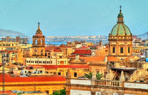Palermo, jak widać z dachu katedry - Sycylia