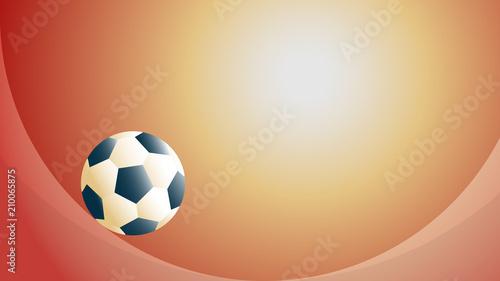 Ilustracja wektorowa streszczenie piłka nożna i koncepcja tło piłka nożna