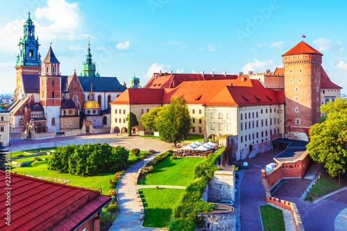 Zamek królewski na wawelu i katedra w Krakowie, Polska