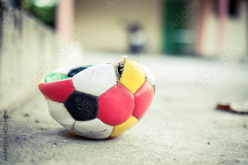 Samochód i piłki nożnej