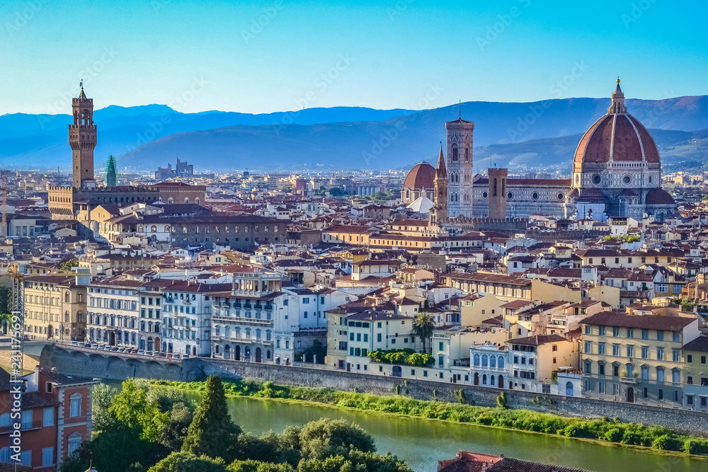 Miasto Florencja, Toskania, Włochy