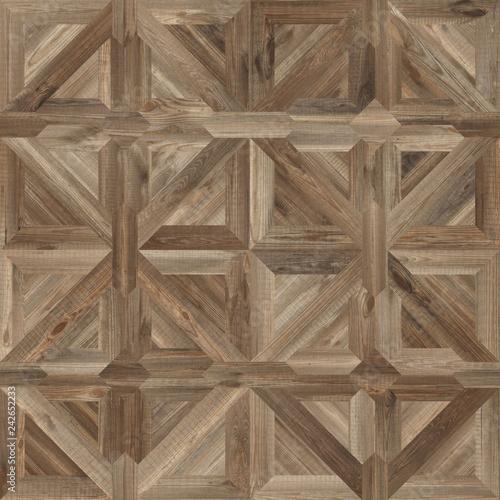 Klasyczny wzór parkietu z naturalnego drewna bez szwu tekstury