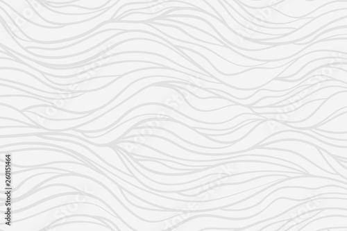 Faliste tło. Rysowane ręcznie fale. Tekstury w paski z wielu linii. Pomachał próbki. Linia sztuki. Czarno-białe ilustracje