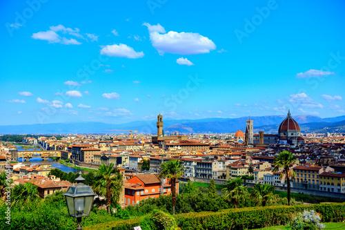 Widok na Florencję z placu michała Anioła