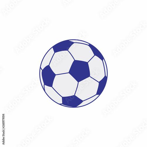 Ikona piłki nożnej symbol wektor