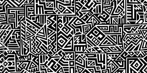 Twórcza stylu etnicznym, wektor wzór. Gumtree geometryczne wektor wzór. Idealne na tle ekranu, tła strony internetowej, zawijanie papieru, tapety, tekstylia i powierzchni konstrukcji. Modne marmurowa boho.