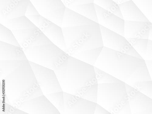 Streszczenie tło wektor bez szwu. Biały i szary powtarzające się tekstury. Poligon nieskończony kreatywny szablon