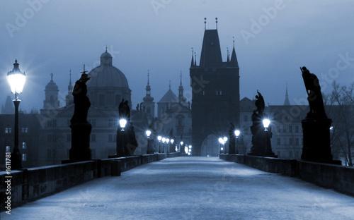 Most karola (niebieski) Praga