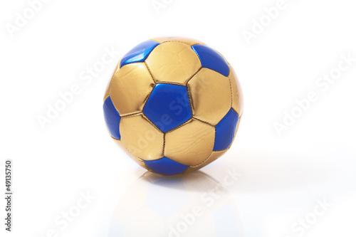 Piłka nożna piłka na białym tle
