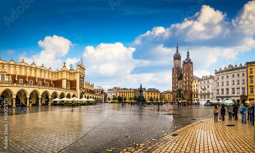 Kraków - historyczne centrum Polski, miasto o najstarszej