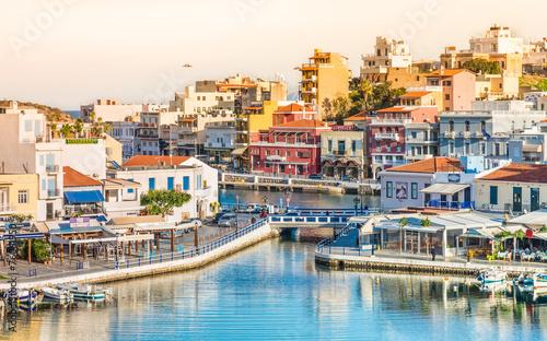 Kreta, Agios Nikolaos, Grecja.