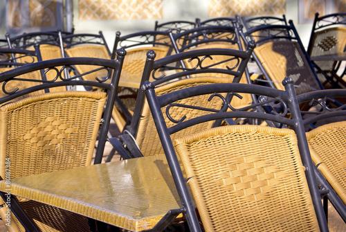 Closed Sidewalk Cafe