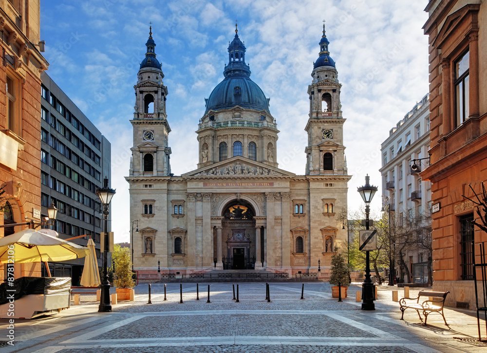 Budapeszt - bazylika Świętego Stefana, Węgry