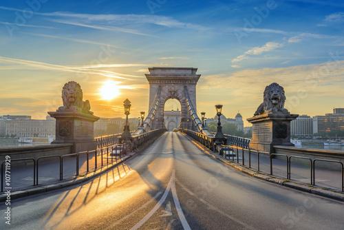 Most łańcuchowy, gdy Wschód, Budapeszt, Węgry