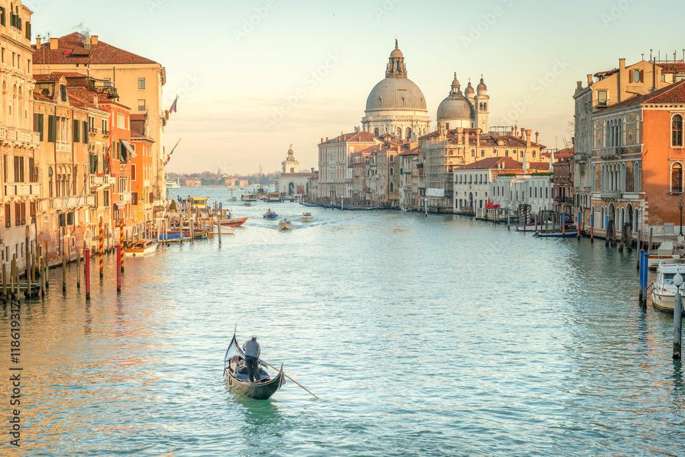 Wenecja w zmierzchu