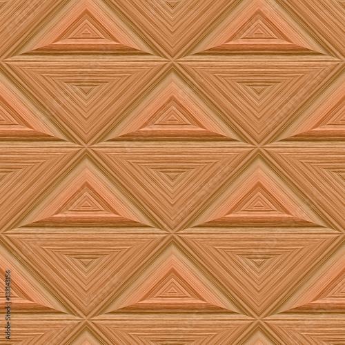 Wzór z drewnianymi panelami ściennymi