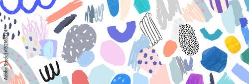 Artystyczny twórczy uniwersalne tło. Ręcznie rysowane tekstury. Zaprojektuj plakat, pocztówka, zaproszenie, Tytuł, okładka, plakat, broszura, ulotka.