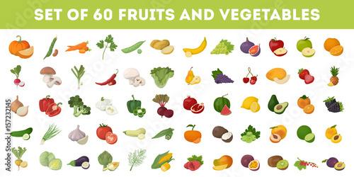 Owoce i warzywa.