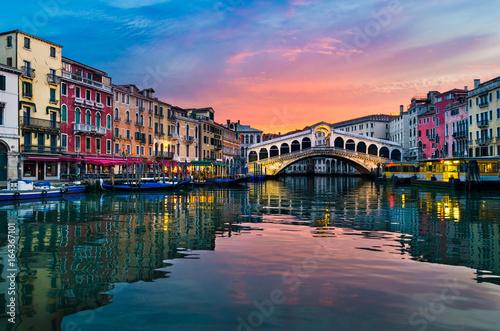 Wschód słońca w Wenecji, Włochy
