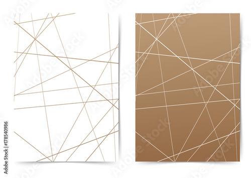 Streszczenie futurystyczny cienkiej folderze szablonu szablon układu