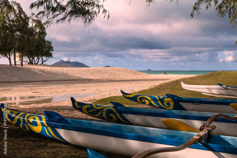 валек kajakarstwo na Hawajach