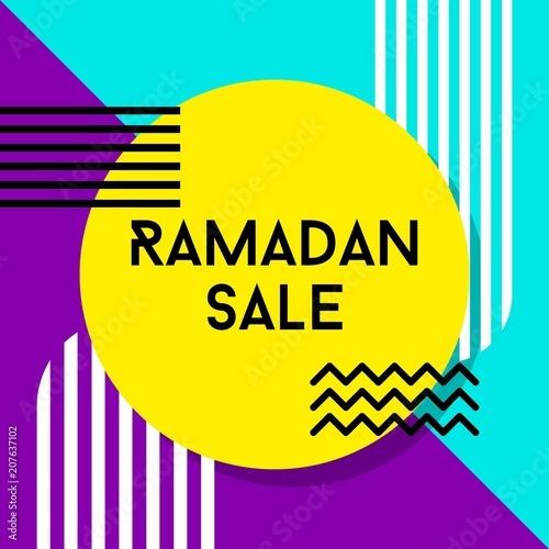 Ramadan brudnej wektorowych