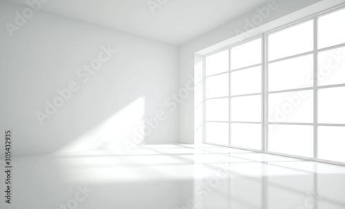 Nowoczesne puste wnętrze