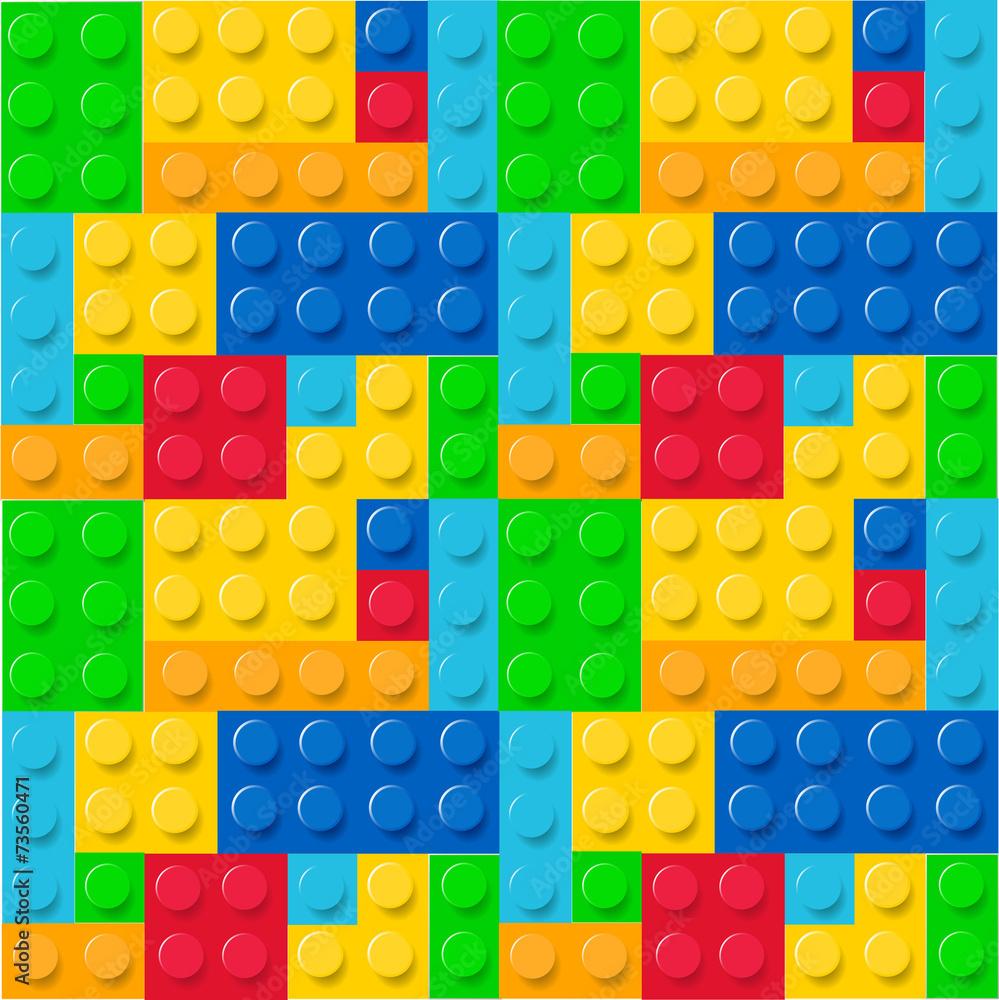 Lego wektor rysunek