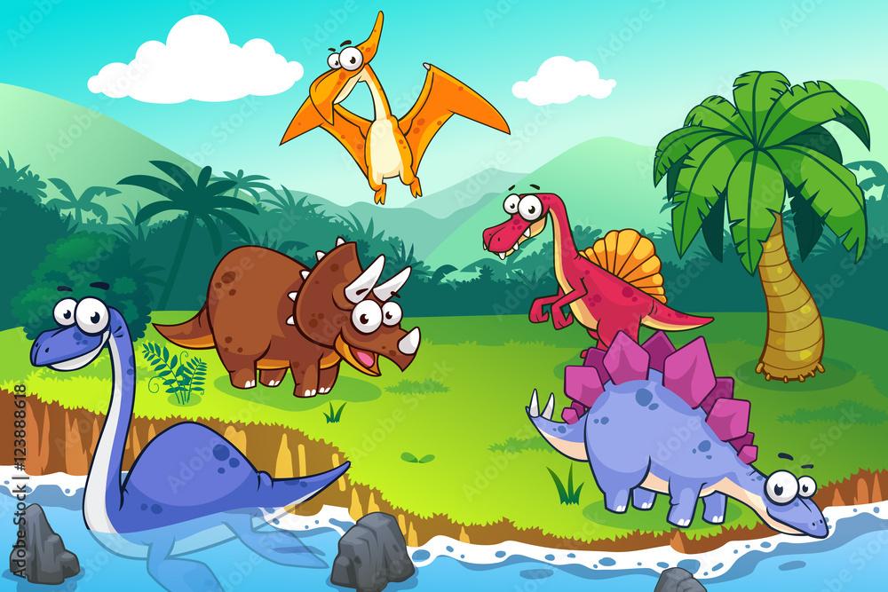 Dinozaury w naturze