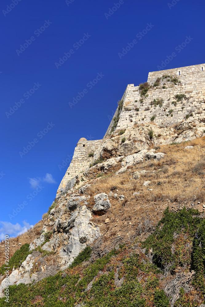 Twierdza Fortezza w Rethymno, Kreta, Grecja