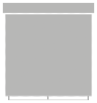 Prowadnica PCV  do mini rolet 220 cm   (biała)