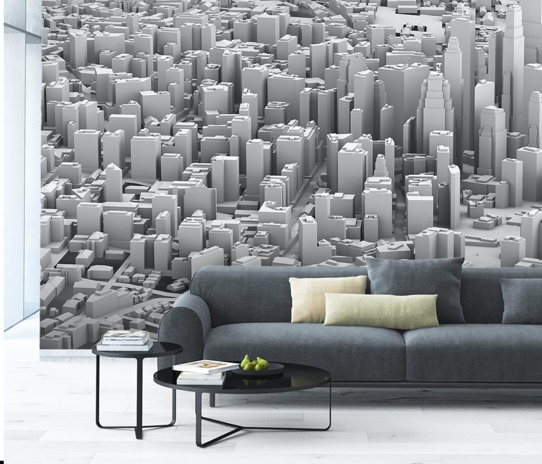 Fototapety 3D dla młodzieży – miasto, panorama, metropolie
