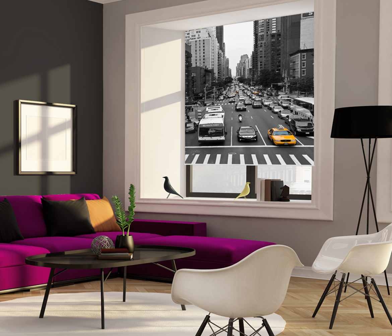 Fotoroleta do małego mieszkania Centrum miasta, ulica