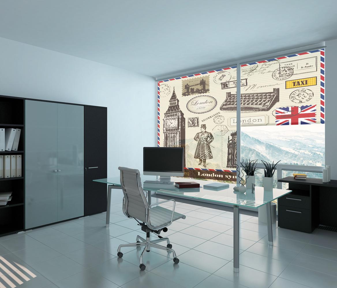 Roleta do biura Symbole Londynu