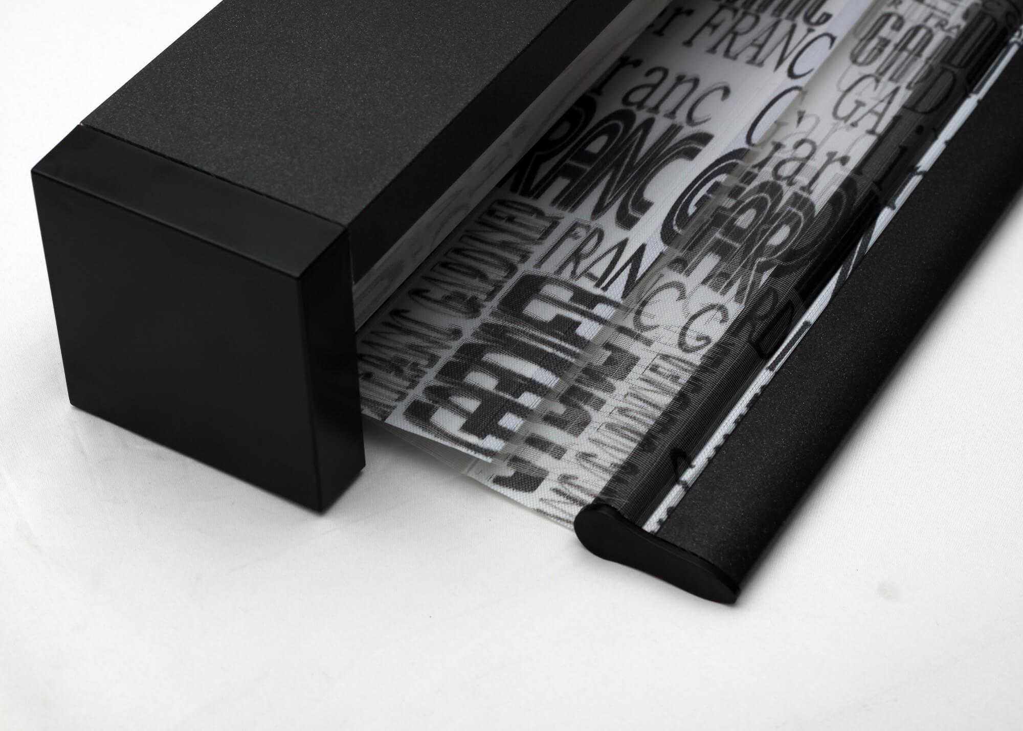 Roleta w kasecie HAWAJE z nadrukowanym wzorem